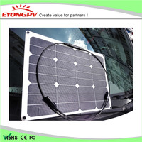 30w rv solar panel flexible marine battery charger china for japanese