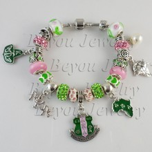 AKA new bead charms bangle bracelet