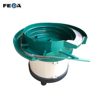 FEDA magnetic vibrating feeder high speed auto feeder for thread cutting machine metal vibration bowl