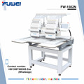 FUWEI high speed 2 heads embroidery machine parts as tajima type for cap hat and clothes