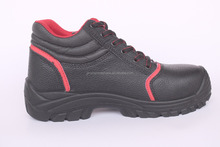 high quality cow leather,composite toe and steel plate SM8987-1 good looking safety shoes