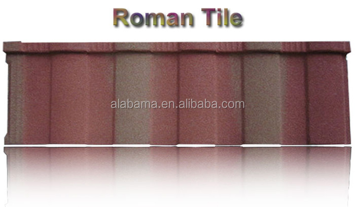 ISO quality management system metal roofing for homes, stone covered roof sheet, colored roofing tiles