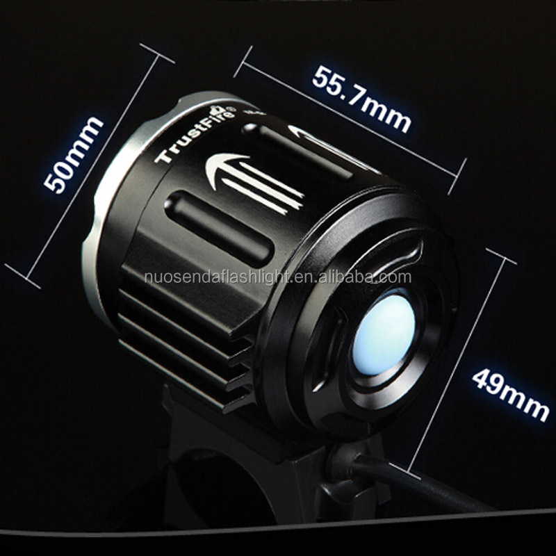 TrustFire D011 3xCree XM-L2 led bike light 8.4V bicycle lamp+ Mobile Power Bank Battery Pack