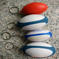 PU foam rings for rugby keychains wholesale