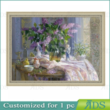 Famous Flower Painting Wall Pictures for Living Room