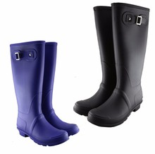 Custom Womens Waterproof Rain Wellies Wellington Boots,PVC rubber rain boot