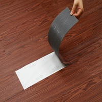 Easy clear self adhesive plastic floor covering