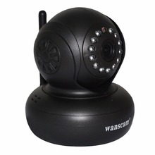 Wanscam Baby Monitor H.264 IR Network Wireless WiFi 1080P IP Camera With New Black Color