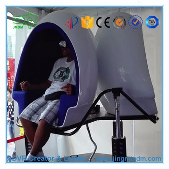 Virtual Reality Simulators suitable with coin operated popcorn machine 9D VR cinema for brand new business