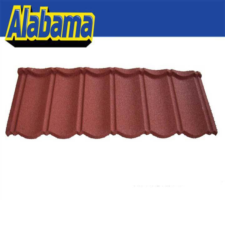 Coluor Diversity atractive price metro roof tile, nigeria soncap stone coated roofing tile
