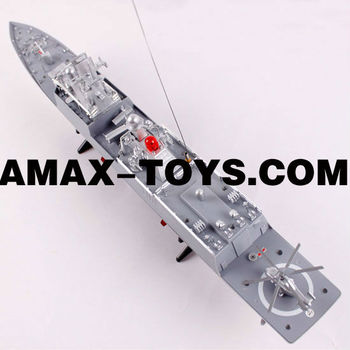 rs-0083831 toy battleship 1:275 67cm Emulational Exquisite Remote Control Warship with Flashing Light