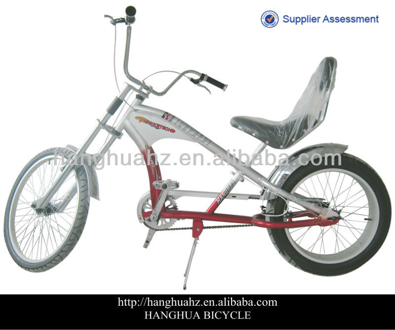 HH-C2003 24'' red adult chopper bike with good quality