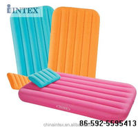 kids air bed, children's inflatable mattress with pillow 66801