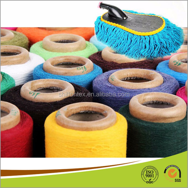 Recycled Cotton Polyester Yarn Mop Yarn for India