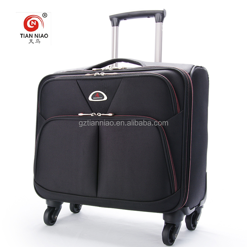 China supplier 14 inch waterproof laptop trolley bag cover business travel trolly bag