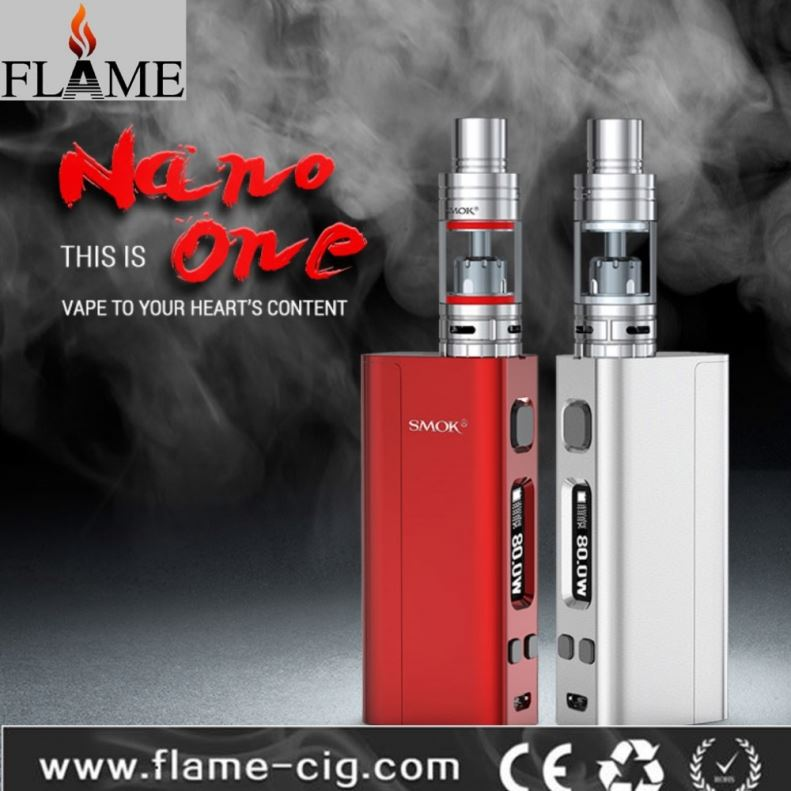 100% original smok TF-RTA tank with perfect smok nano one box mod for vape in stock