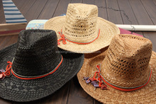 Cheap Bulk Paper Straw Cowboy Hats With Strings