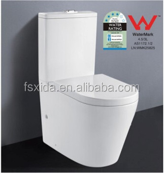 New Two-piece ceramic watermark Toilet closet