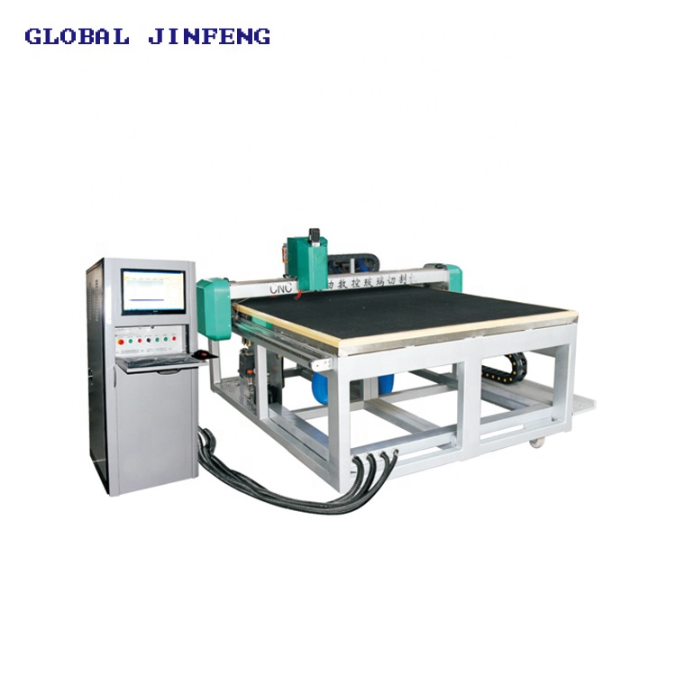 JFC-2620 Automatic CNC glass cutting machine and table with computer control and CE certiifcation