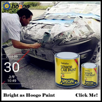 2K lacquer urethane car paint for metal