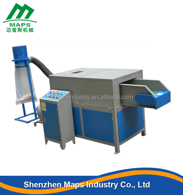 Plastic CE certificate film grinder fine automatic foam shredder machine