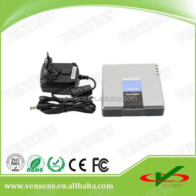 Factory Price New Band Hot Sale FXS+FXO port Linksys SPA3000 voip phone adapter
