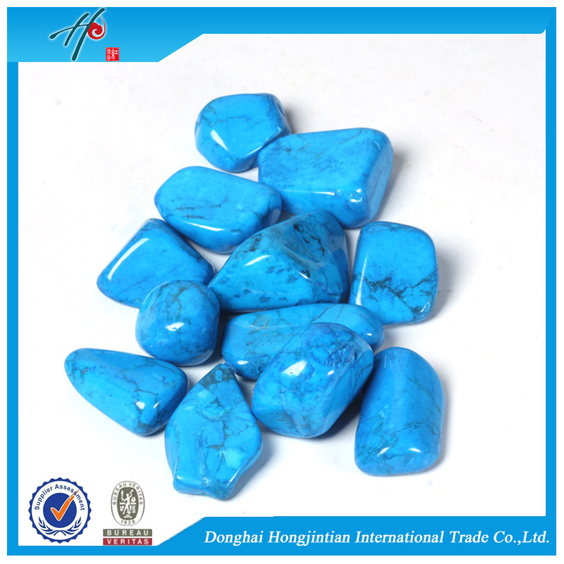 New arrival Turquoise natural crushed stone