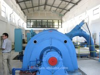 water turbine Pelton impulse hydro turbine high head customized power generation