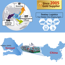 Cheap sea freight shipping service from china to dakar senegal