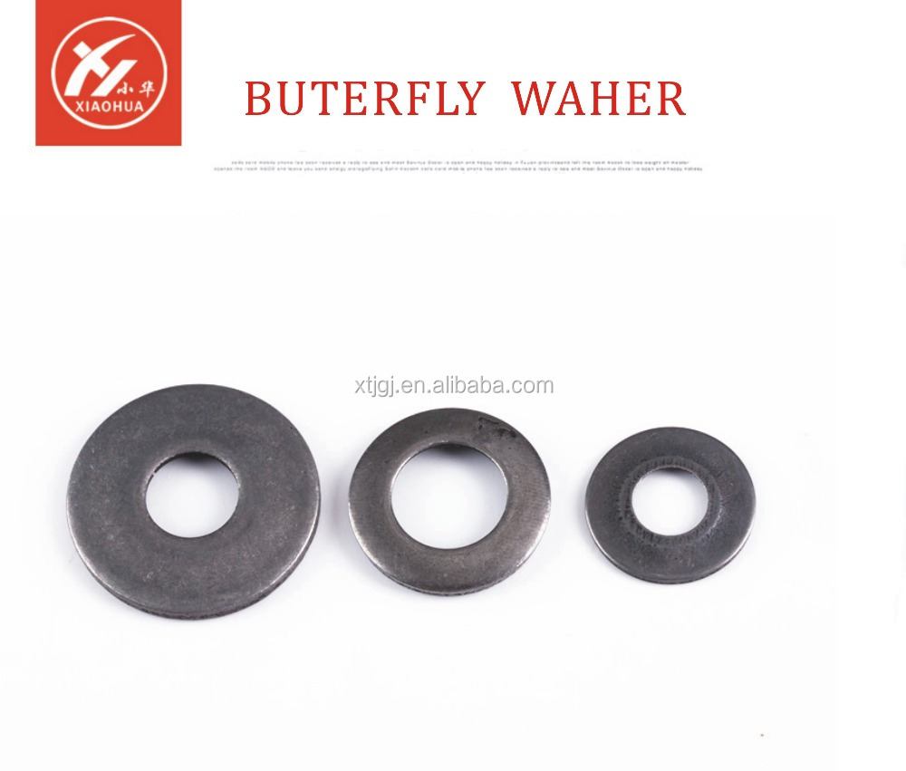 Special car washerspring steel waher butterfly waser made in china