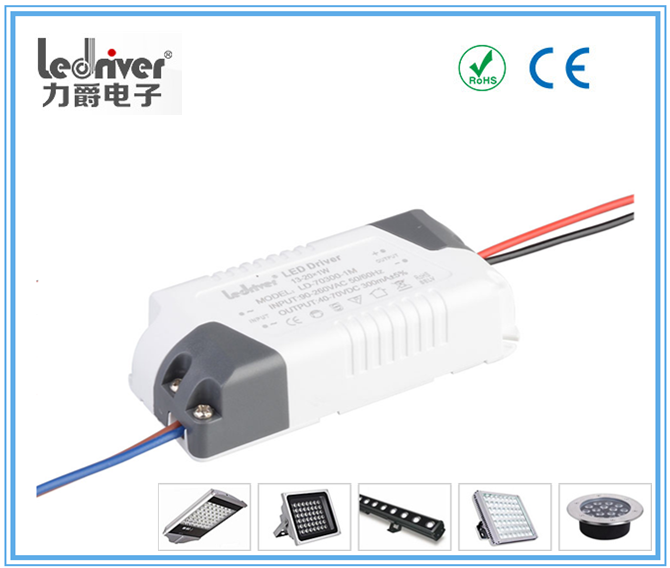 4W-7W Adjustment Dimming Dimmable Constant Current 300ma Led Driver