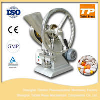 Single punch manual tablet press hand tablet press