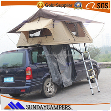 Camping equipment car camping top roof soft canvas tent