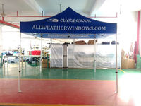professional trade show Aluminum folding tent, gazebo, canopy, marquee
