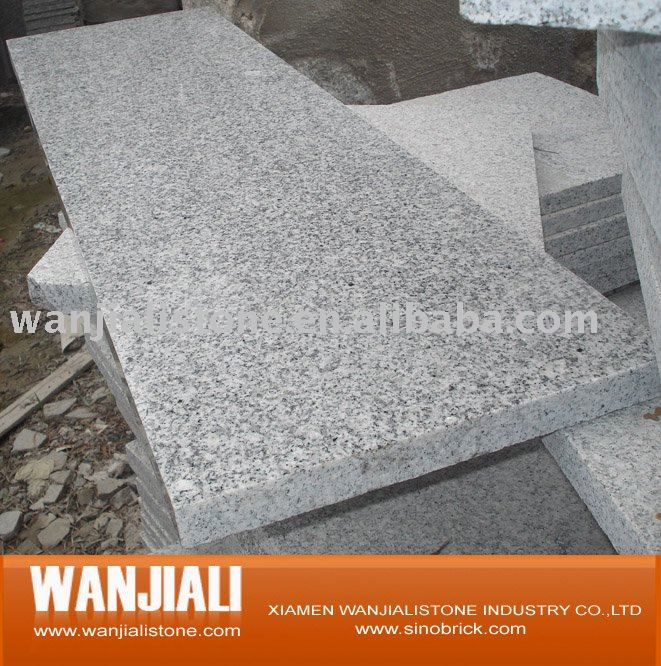 G603 grey granite stair