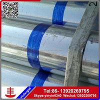 hot dip galvanized line greenhouse round pipe and gi conduits