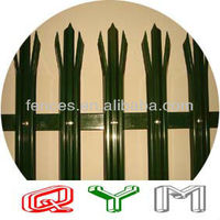W Section Palisade Fence Vender