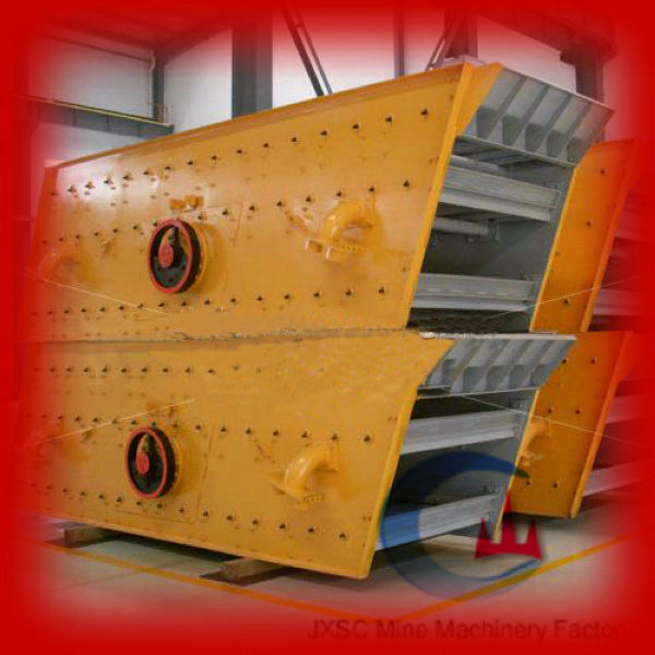 Gold mining feeding hopper vibrating screen