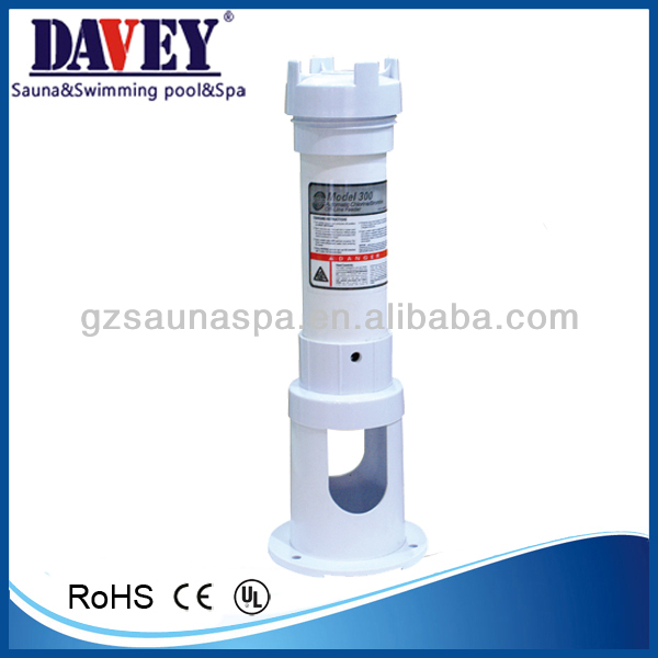 swimming pool equipment automatic chlorine/bromine off feeder