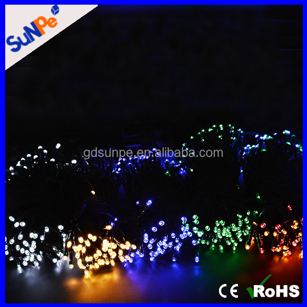 200LEDs christmas tree decorations solar garden light solar led string light for festival and wedding