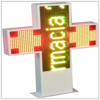 P1.875 P2.5 P3 P4 P5 P6 outdoor SMD Display croix de pharmacie led P4 P5 P6 P10 SMD outdoor led display