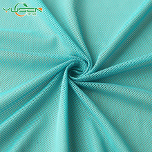 Zhejiang textile wholesales polyester breathable mesh fabric for sportswear