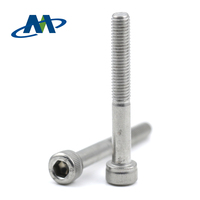 10-32*25.4 Half Thread Stainless Steel Hex Socket Head Cap Screw for Mechanical Assembly
