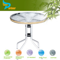 TLH-086 Cheap Price And High Quality Luxury Glass Top Aluminium Conference Table