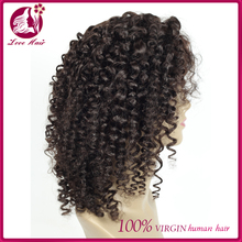 Top Selling African American Wigs Kinky Curly Short Bob Human Hair Wigs For Black Women
