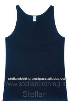 MEN'S COTTON SPANDEX TANK TOP