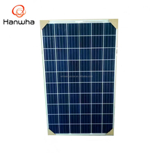 Hanwha High Efficiency Cheap Price 260w pv Solar Panel 4BB 60cells Poly Module Poly Crystal Solar Panel made in china