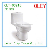 Ceramic Bathroom High Quality One Piece Water Closet Toilet Made in China