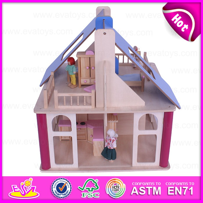 2016 top fashion baby wooden house,high quality kids wooden house,best sale children wooden house W06A132