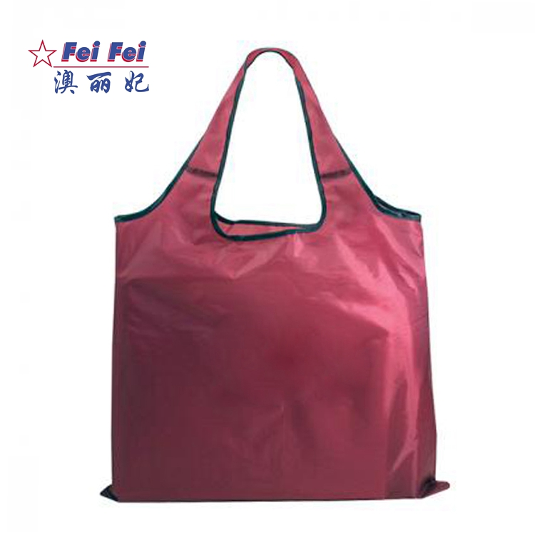 Cheap Unique Nylon Fashionable Polyester Foldable Shopping Bag